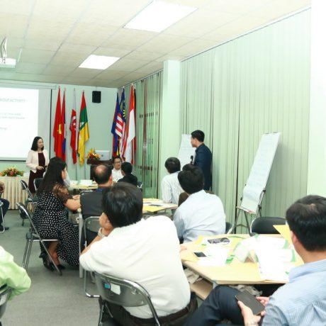 """Khóa tập huấn quốc tế về """"Nâng cao Năng lực Lãnh đạo và Quản lý Giáo dục Đại học"""" dành cho Campuchia, Lào và Việt Nam"""