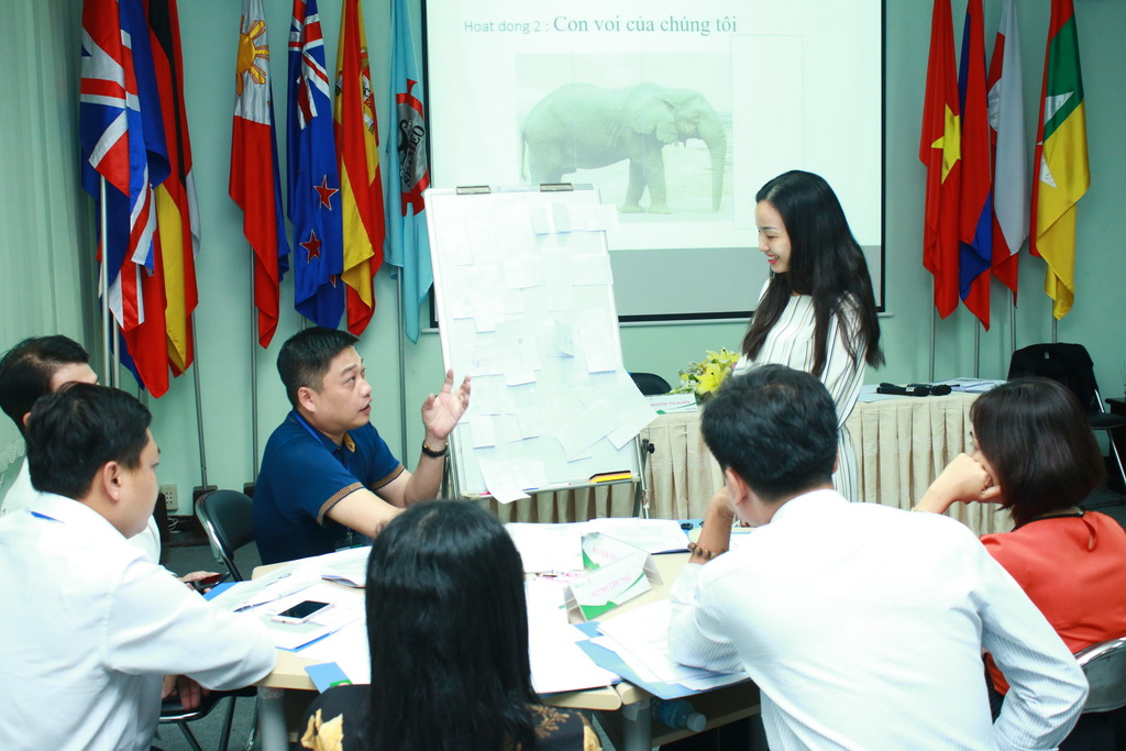 """Training Course on """"Internal Quality Assurance for Higher Education Institutions in Vietnam"""""""