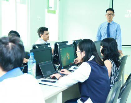 """Khóa Tập huấn về """"Ứng dụng CNTT trong Kiểm tra và Đánh giá Kết quả Học tập của Sinh viên"""""""