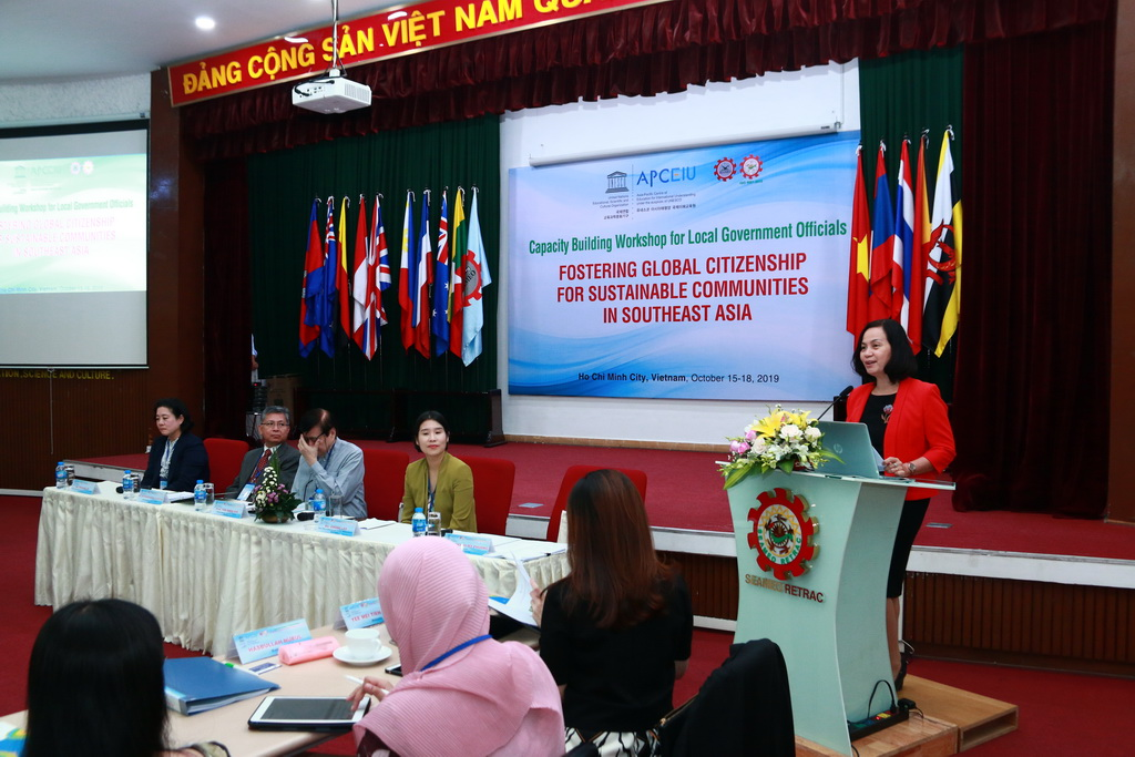 "Capacity-Building Workshop for Local Government Officials on ""Fostering Global Citizenship for Sustainable Communities in the Southeast Asia"""