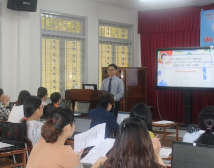 """Training course on """"ICT Applications in Gamification on Creative Teaching"""", Can Tho"""