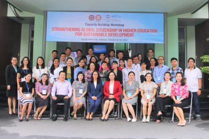 "Capacity-Building Workshop on ""Strengthening Global Citizenship for Sustainable Development"""