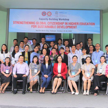 """Khóa Tập huấn Quốc tế về """"Tăng cường Giáo dục Công dân Toàn cầu vì sự Phát triển Bền vững"""""""