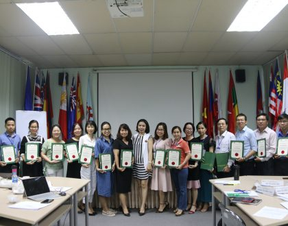"""Training course on """"Strategy Development and Quality Assurance Implementation"""""""