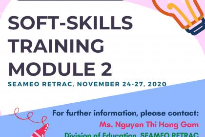 "Training course on ""Soft-Skills Training – Module 2"""