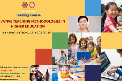 "Training course on ""Innovative Teaching Methodologies in Education"""