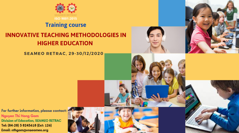 "Training course on ""Innovative Teaching Methodologies in Education"""