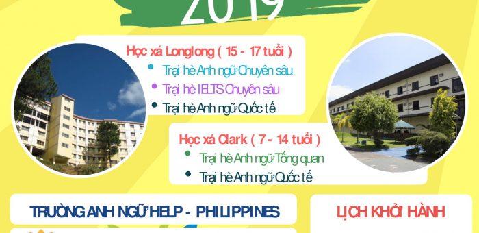 Du học Hè Philippines 2019