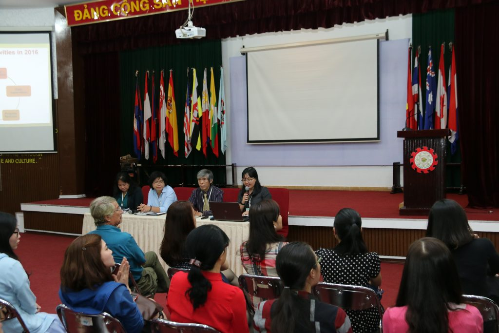 the annual faculty meeting of the division of foreign studies