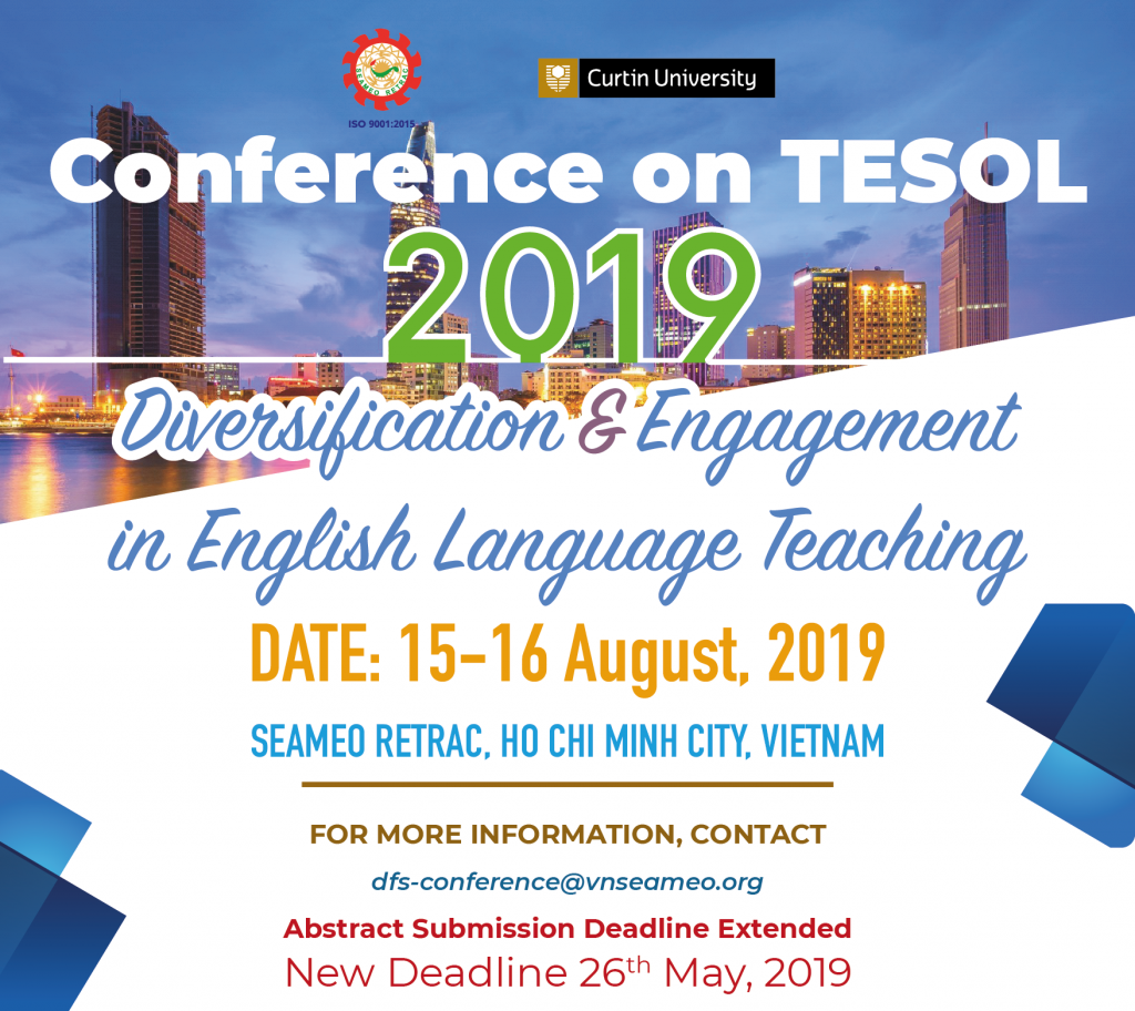 c14cb81e2ef 10th Annual International Conference on TESOL – SEAMEO RETRAC